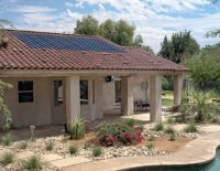 Integrated Solar Panel Roof Tiles